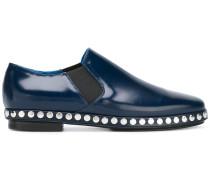 Slip-On-Schuhe mit Nieten