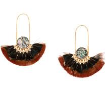 'Acapulco' Ohrringe mit Federn