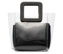 Mini Shirley' Handtasche aus Leder und PVC