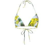 leaf print bikini