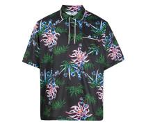 "Poloshirt mit ""Sea Lily""-Print"