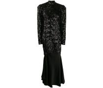 Kleid im Kontrast-Design