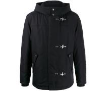 hooded waterproof short jacket