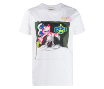 T-Shirt mit Micky-Print