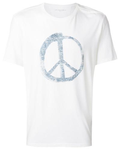 """T-Shirt mit """"Peace""""-Print"""