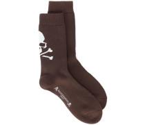 rear skull print socks - Unavailable