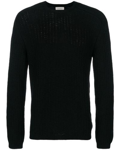 Merino-Pullover mit Rundhalsausschnitt