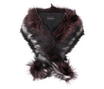 'Duchess' Schal mit Pelz