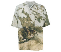short sleeve oversize shirt