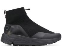 Sock-Sneakers mit breiter Sohle