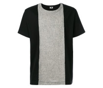 two-tone panelled T-shirt