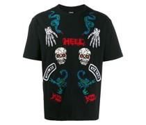 "T-Shirt mit ""Hell""-Print"