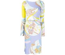 mid-length printed dress