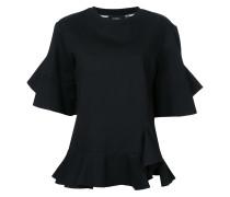 T-Shirt mit Volants