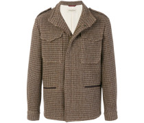 Kurzer Tweed-Mantel