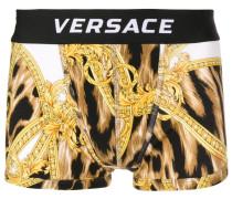 Boxershorts mit Leoparden-Print
