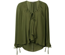 ruffled loose fitted blouse