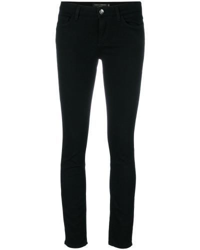 Skinny-Jeans mit Herz-Patches