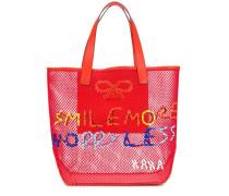 'Smile More' Handtasche
