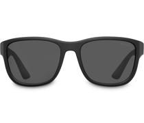 'Linea Rossa Flask' Sonnenbrille
