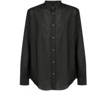 Button-down-Hemd mit lockerer Passform