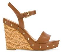 Jill studded wedge sandals