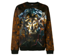 Wolf printed sweatshirt
