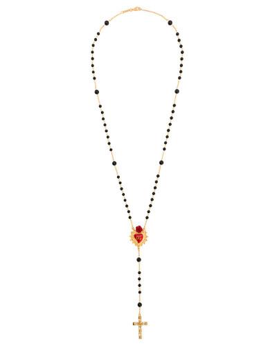Halskette in Rosenkranz-Design