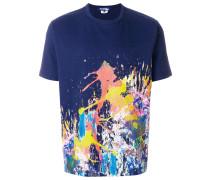 paint splash print T-shirt