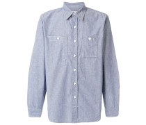 asymmetric pockets shirt
