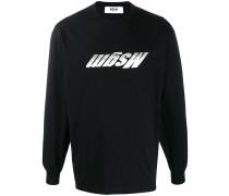 Sweatshirt mit umgedrehtem Logo
