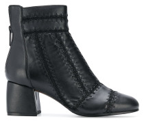 stitching detailing ankle boots