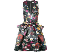 floral print bow dress