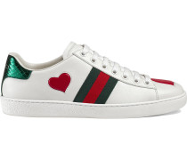 'Ace' Low-Top-Sneakers mit Stickerei