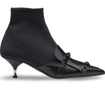 Sock-Boots mit Nieten
