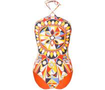 all-over print swim suit