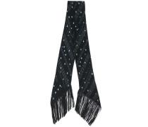stars and dot print scarf