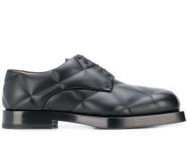 Gesteppte Derby-Schuhe