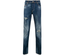 Schmale 'Tepphar' Distressed-Jeans