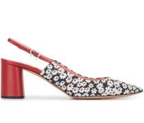 Slingback-Schuhe mit spitzer Kappe