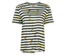 T-Shirt mit Farbklecks-Print