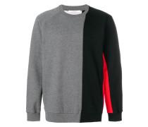 Oversized-Sweatshirt in Colour-Block-Optik