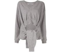 Pullover mit gebundenen Ärmeln
