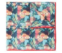 Schal mit Pfirsich-Print