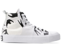 High-Top-Sneakers mit Schwalben