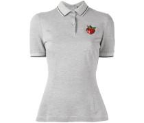 Poloshirt mit Erdbeere-Patch