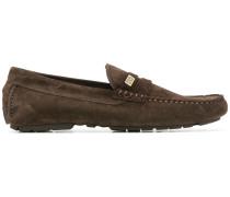 Loafer aus Kalbswildleder