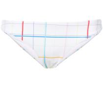 Lily rainbow grid bikini bottoms
