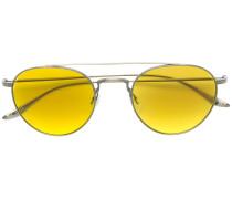 Pilotenbrille mit gelben Gläsern