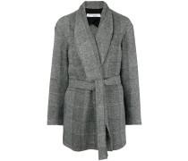 Broadway belted mini coat